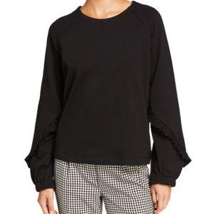 NEW Kensie Soft Cozy Fleece Sweatshirt Size Small